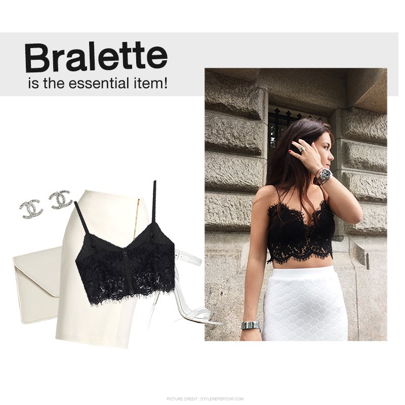 Bralette Is The Essential Item!