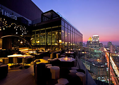 The top best 13 rooftop bars in Bangkok