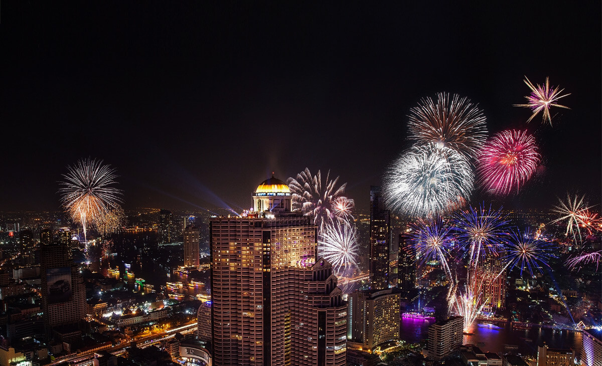 Where to go to celebrating 2018 in Bangkok