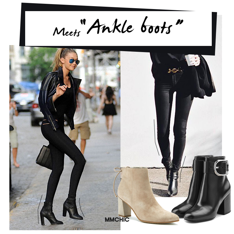 Meets Ankle boots