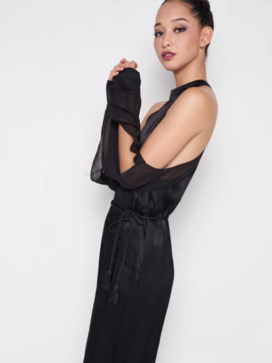 Open Sleeve Jumpsuit