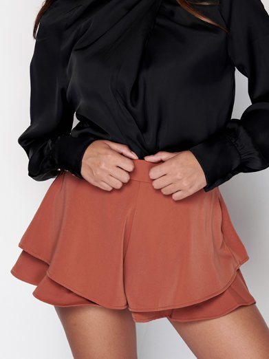 Frilled Short