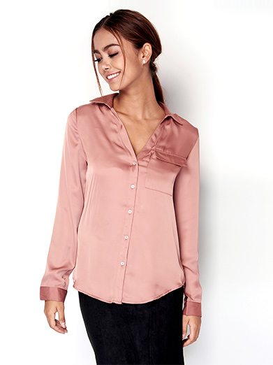 Satin Blouse