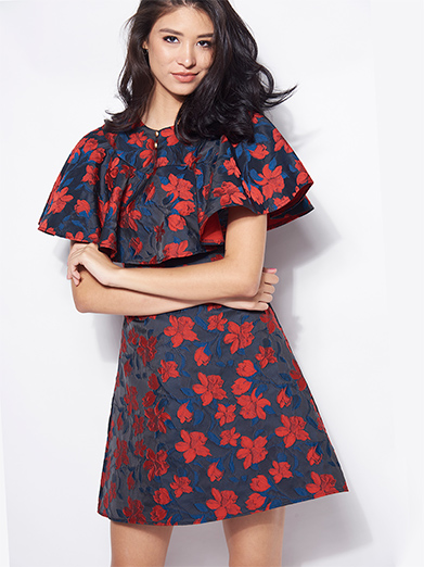 Floral Flash Dress